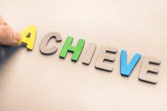 achieve Lizenzfreie Stockfotos
