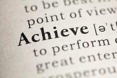 achieve Lizenzfreie Stockbilder