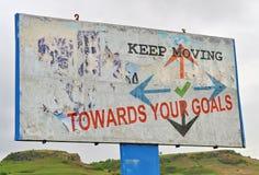 Achieve your goals Stock Image