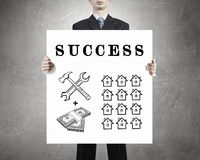 Achieve your success Royalty Free Stock Image