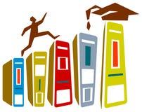 Achievement. Isolated line art educational achievement design Stock Photo