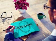 Achievement Accomplishment Success Goal Concept Royalty Free Stock Photography