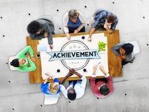 Achievement Accomplishment Success Goal Concept Royalty Free Stock Photos