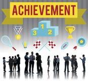 Achievement Accomplishment Vision Development Concept Royalty Free Stock Images