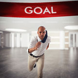 Achievement business goal Royalty Free Stock Photos