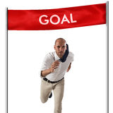 Achievement business goal Stock Photography