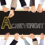 Achievement concept Stock Photography