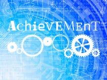 Achievement High Tech Background Stock Photos