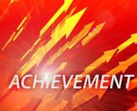 Achievement management success Stock Image
