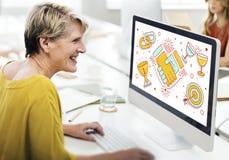 Achievement Success Teamwork Partnership Concept Stock Images