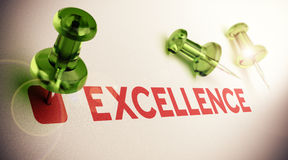 Achieving Excellence Royalty Free Stock Image