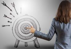 Achieving goals Stock Images