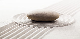 Achieving steadiness with meditation Royalty Free Stock Photography