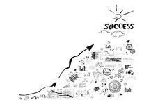 Achieving success Royalty Free Stock Photography