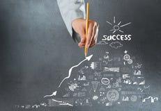 Achieving success Stock Photo