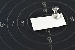 Achieving a target concept Stock Photography