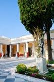 achileon corfu宫殿 免版税库存照片