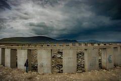Achill-henge auf Achill-Insel, Co mayo Stockfoto