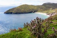Achill Irland, Ansicht an Keem-Strand. Stockbilder