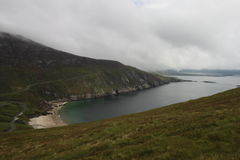 Achill Irland, Keel West Beach Stockbild