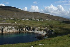 Achill Island. County Mayo, Ireland Stock Photos