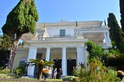 Achilleion宫殿 图库摄影