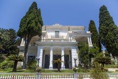 Achilleion in Korfu, Griechenland Lizenzfreie Stockbilder