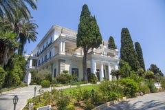 Achilleion in Korfu, Griechenland Lizenzfreies Stockbild