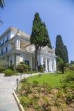 Achilleion in Korfu, Griechenland Stockfotos