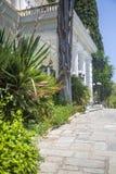 Achilleion in Korfu, Griechenland Stockfoto