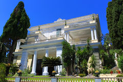 Achilleion Palace - Corfu. Achilleion is a palace built in Corfu by Empress of Austria Elisabeth of Bavaria, also known as Sisi Royalty Free Stock Photography