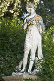 Achilleion palace, Corfu, Greece. Statue showing a greek mythical muse Royalty Free Stock Photo