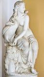 Achilleion palace, Corfu, Greece. Classic era statue of Greek origin Royalty Free Stock Image