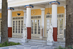 Achilleion palace, Corfu, Greece Royalty Free Stock Photo