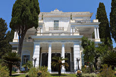 Achilleion palace at Corfu island Stock Images