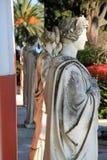 Achilleion Statue Lizenzfreie Stockbilder