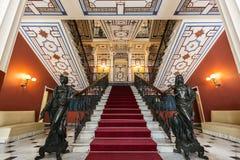Achilleions-Palast Stockbild