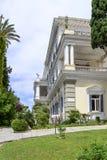 Achilleions-Palast in Gastouri auf Korfu-Insel, Griechenland Lizenzfreies Stockfoto