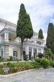 Achilleions-Palast in Gastouri auf Korfu-Insel, Griechenland Stockfotos