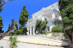 Achilleions-Palast Gastouri eine Korfu-Insel, Griechenland Stockfoto