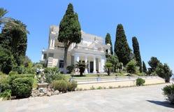 Achilleions-Palast Gastouri eine Korfu-Insel, Griechenland Lizenzfreies Stockfoto