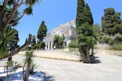 Achilleions-Palast Gastouri eine Korfu-Insel, Griechenland Stockfotografie