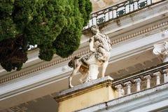 Achilleions-Palast, Griechenland Lizenzfreie Stockfotos