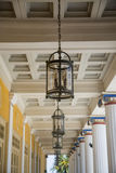 Achilleions-Palast in Korfu Lizenzfreies Stockbild
