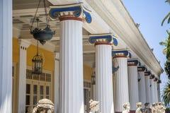 Achilleions-Palast in Korfu Lizenzfreies Stockfoto
