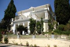 Achilleions-Palast (Korfu, Griechenland) Stockbilder