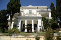 Achilleions-Palast (Korfu, Griechenland) Lizenzfreie Stockfotos
