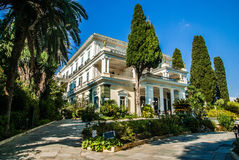 Achilleions-Palast, Korfu-Insel, Geece Stockbild