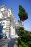 Achilleions-Palast - Landhaus der Kaiserin Sisi Korfu (Kerkyra) I Stockbilder