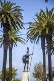 Achilleions-Statue in Korfu, Griechenland Stockfotografie